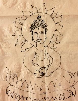 napkin buddha ©VSpain