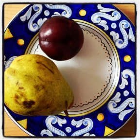pear and plum ©VSpain